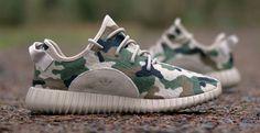 "adidas Yeezy Boost 350 – ""Camo"" Custom"