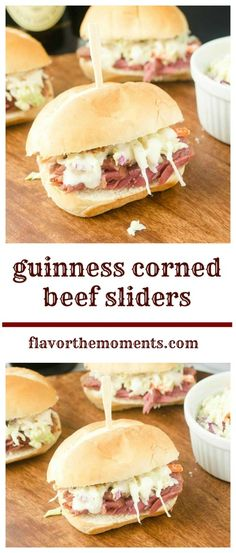 guinness-corned-beef-sliders-collage | flavorthemoments.com