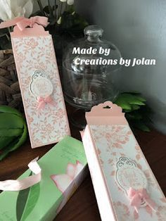 Stampin'Up demonstrator Creations by Jolan: Stampin'Up Fresh Florals design paper moederdag parfum doosje & creations by Jolan Envelope Punch Board Projects, Mini Scrapbook Albums, Party Bags, Stamping Up, Craft Gifts, Little Gifts, Cardmaking, Diy And Crafts, Floral Design