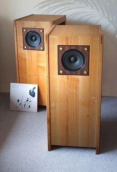 Mono and Stereo High-End Audio Magazine: Auditorium 23 Hommage Ken Loudspeaker Audiophile Speakers, Hifi Stereo, Hifi Audio, Audio Speakers, Audio Music, Open Baffle Speakers, Wooden Speakers, Monitor Speakers, Bookshelf Speakers