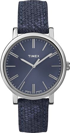 Women's Wrist Watches - Timex Womens Blue Leather Quartz Watch with Blue Dial * Find out more about the great product at the image link. Trendy Watches, Cool Watches, Watches For Men, Wrist Watches, Latest Watches, Ebay Watches, Timex Watches, Men's Watches, Amazing Watches