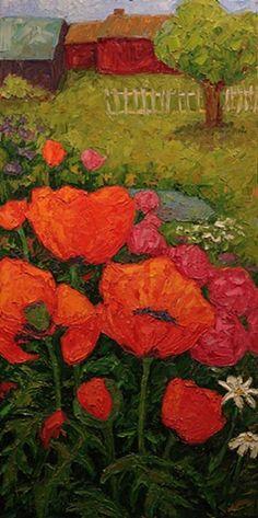 """Poppy Patch at the Farm"" By Kim Rhoney"