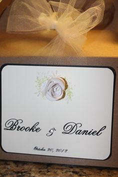 Wedding Guest Welcome Box by GoodieBagPartyFavors on Etsy, $5.00