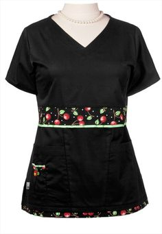 Mary Engelbreit v-neck scrub top so cute! On sale now!