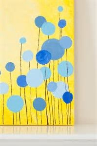 Image result for Easy Abstract Acrylic Flower Paintings