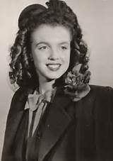 Young Norma Jean (Marilyn Monroe) - Yahoo Image Search  A George Vreeland Hill Pinterest post.
