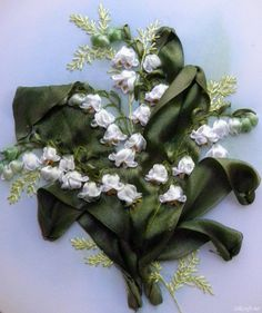 silk ribbon embroidery tutorials | ... ribbons i suggest to use bright white silk ribbons for this project