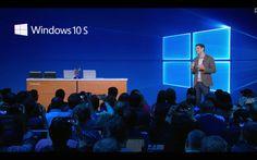 Presentado Windows 10 S, el sistema operativo diseñado al detalle para la educación