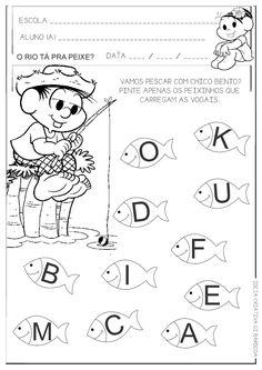 atividades para educação infantil vogais - Pesquisa Google