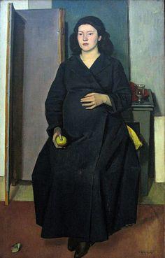 """""""Pregnant Woman"""" (1948) - Moralis Yannis (1916-2009) by Tilemahos_E, via Flickr"""