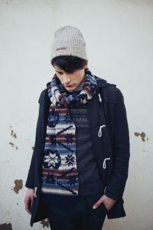 687b224351b Bickley + Mitchell Jacquard scarf and hat