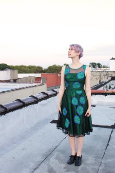 I love my green and blue custom fit dress from eShakati. Read my review here!