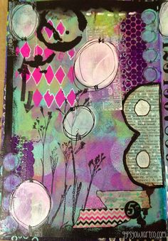 The Gypsy Owl Art Co.: The 12 Art Journals - My Spread