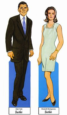 PD153 Bewitched Paper Dolls by Tom Tierney