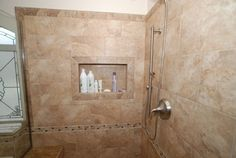 bathroom with corner tub and shower - Google Search