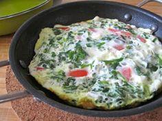 Clean Eating Recipe Box: Spinach, Tomato & Feta Cheese Frittata