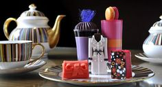 Afternoon tea no Hotel Berkeley em Londres. Fashion!