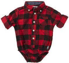OshKosh B'gosh Plaid Shirt...tpo stinkin cute!