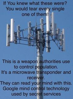CELL TOWERS, SMART PHONES, CHEMTRAILS AND EMF WAVES, WHAT YOU NEED TO KN...