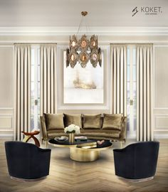 Lovely Curved Couches Living Room Ideas 48 - Home Interior and Design Sophisticated Living Rooms, Luxury Furniture Brands, Luxury Living Room, Room Design, Home Decor Trends, Luxury Furniture, Bedroom Design, Interior Design Trends, Luxury Home Decor