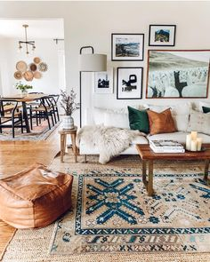 – A mix of mid-century modern, bohemian, and industrial interior style. Home and… – A mix of mid-century modern, bohemian, and industrial interior style. Home and… Boho Living Room, Living Room Grey, Living Room Interior, Living Room Furniture, Cozy Living, Small Living, Modern Furniture, Furniture Ideas, Interior Livingroom