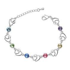 Bracelet en cristal de swarovski  www.merveilledebijoux.fr