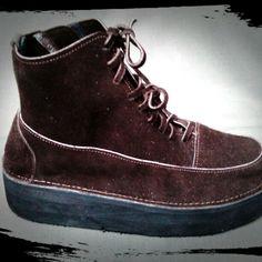 Handmade learher boot