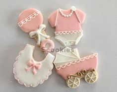 Baby shower cookies for girl, Elephant cookies, Pink and gray cookies 1 dozen Baby Girl Cookies, Onesie Cookies, Baby Shower Cookies, Baby Shower Favors, Baby Boy Shower, Bridal Shower, Fancy Cookies, Cut Out Cookies, Royal Icing Cookies