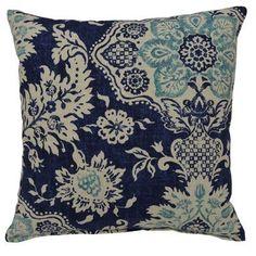Creative Home Belmont Harbor Cotton Throw Pillow