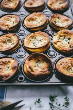Bacon/Thyme Yorkshire Puddings