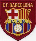 C F Barcelona Retro 80's / 90's Football Badge Patch 7.4cm x 8.4cm http://www.wovenbadge.com/