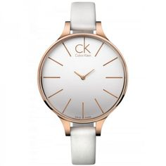 Calvin Klein watch XS Glow Rose Gold