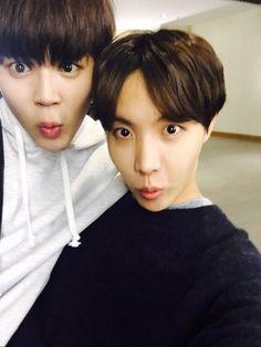 Jimin and J-Hope~