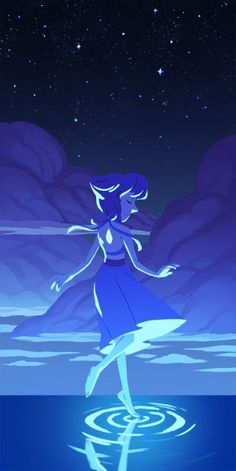 I looooove Lapis Lazuli well, I love everyone on Steven Universe. Except Onion. That kid has issues. steven universe fan art gorgeous crystal gems
