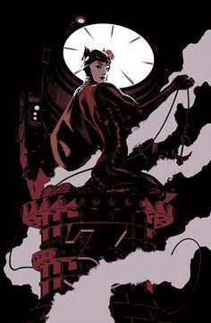Catwoman par Adam Hughes