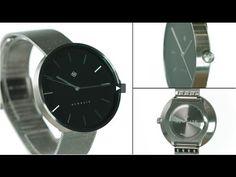 The Drumline watch by Newgate Watches. A minimalist watch with black dia...