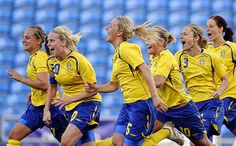 Sweden Women's Soccer Team who is officially represented the Sweden country in the Women's Association football (soccer). Sweden Women's Football team also known as The Blueyellow (Blågult). Sweden Football Team of Womens is one of the participating nation who including in the Rio Olympic games in football events and playing in the Group E. on