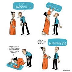 Happiness and Buddhism. Follow me to get more inspirational quotes.