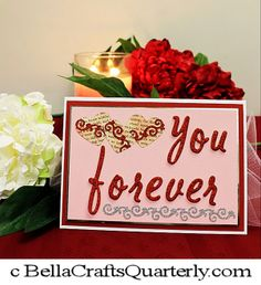 Fun Card FREE INSTRUCTIONS Valentine's Day