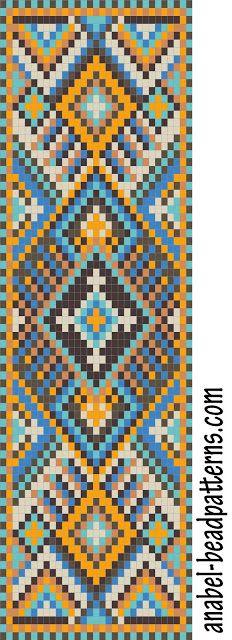 схемы бисероплетение браслет