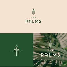 Branding for a modern wellness and lifestyle retreat. Hotel and resort branding, modern resort with minimalist logo design and a soothing, calm color palette. Corporate Logo Design, Brand Identity Design, Branding Design, Corporate Branding, Typography Logo, Logo Branding, Hotel Branding, Resort Logo, Bakery Logo Design