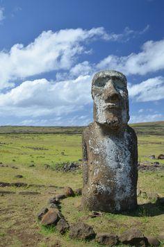 Traveling Moai by Sander De Vries / 500px (Easter Island)