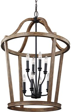 Feiss Lorenz Weathered Oak Wood Foyer Lighting Fixture - All For House İdeas Entry Lighting, Dining Lighting, Farmhouse Lighting, Lighting Ideas, Primitive Lighting, Cabin Lighting, Lighting Showroom, Coastal Lighting, Entryway Light Fixtures