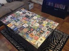 Beer Coaster Table