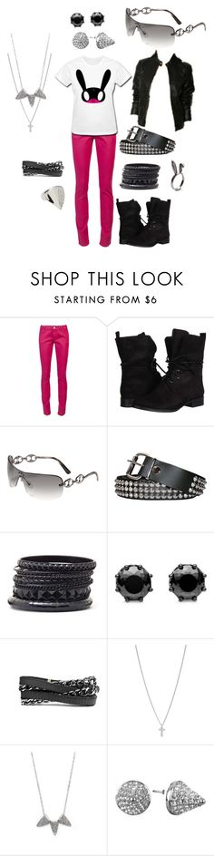 """""""B.A.P Himchan Matoki"""" by chichi23 ❤ liked on Polyvore featuring RED Valentino, KORS Michael Kors, Gucci, Bullet, Worthington, Juicy Couture, Roots, FOSSIL, Lola James Jewelry and Eddie Borgo"""