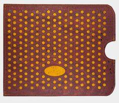 Tablet-PC-Taschen - Tablet Hülle für Ipad in neuem Kork-Design - ein Designerstück von nadelundfarben bei DaWanda