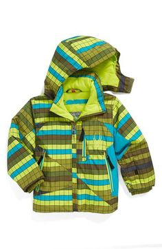 Spyder 'Armageddon' Waterproof Snow Jacket (Toddler Boys) available at #Nordstrom