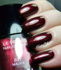 Chanel Malice - Swatches and Review | Pointless Cafe