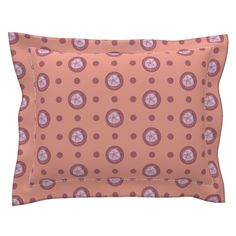 Sebright Pillow Sham with Flanged Detail featuring Pin&Pon Popdollar by joancaronil | Roostery Home Decor