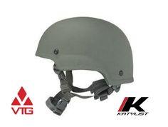 Ach Combat Helmet Kevlar 4 Point Chin Strap With Hardware
